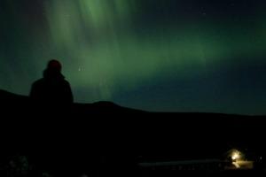 Norrsken över Sylstationen Foto_David Erixon