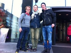 Intervju med Husky. Foto: Okänd norsk turist