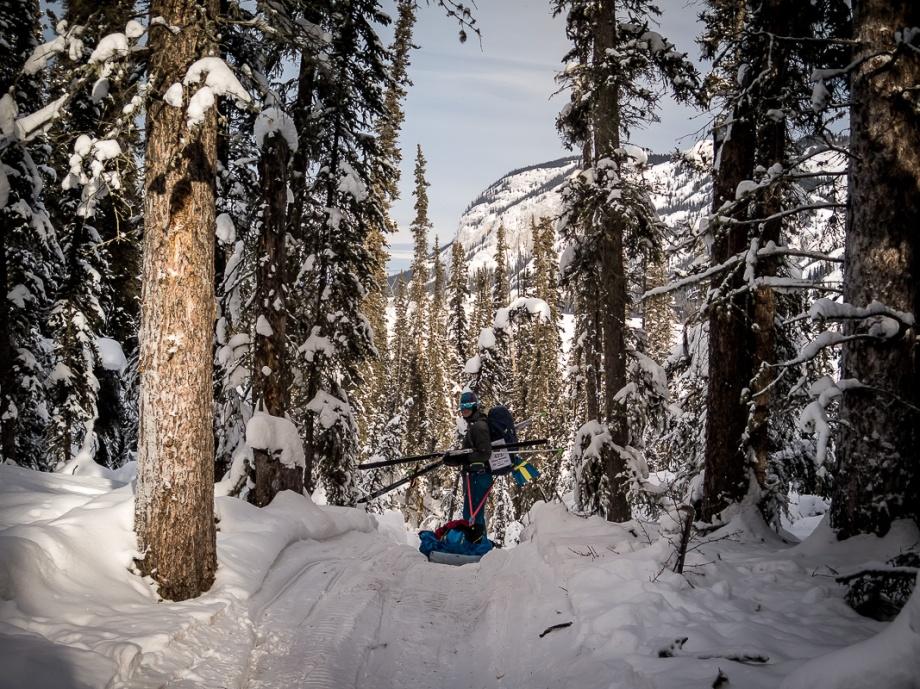 Mäktiga vyer på väg till Ken Lake. Foto: David Erixon