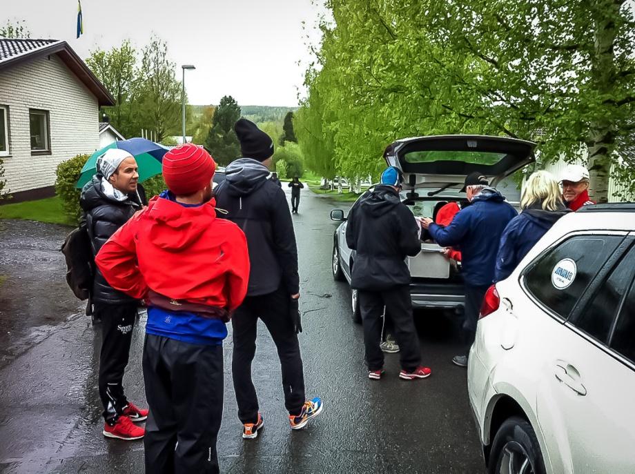 Nummerlappsutdelning Foto: Karl Almestål