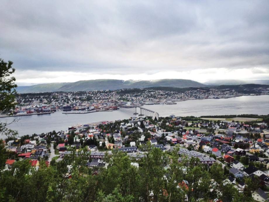 Vy över Tromsö Foto: David Erixon