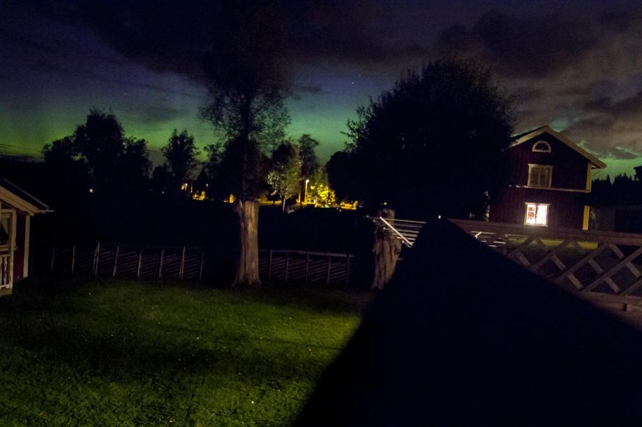 Norrsken i Sävdabo Foto: David Erixon