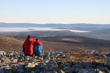 Utsikten från Korpflyet Sonfjällets nationalpark Foto: Linnea Nilsson Waara