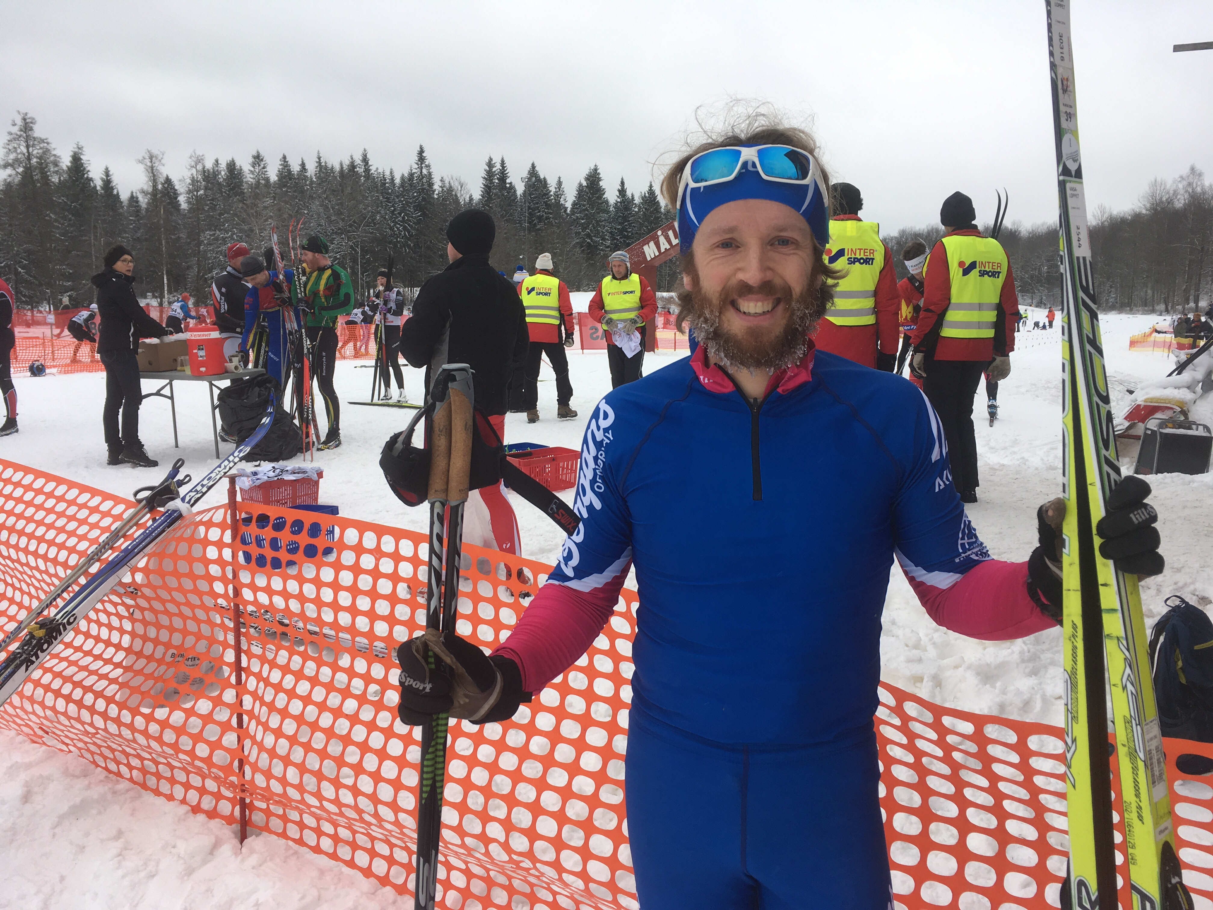 Tävlingsrapport Borås Ski Maraton