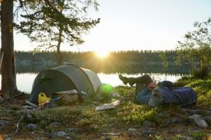 Långt till grannarna i Femundsmarka. Foto: Linnea Nilsson-Waara