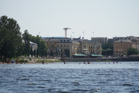 Civiliserat i Karlstad. Foto: Linnea Nilsson-Waara