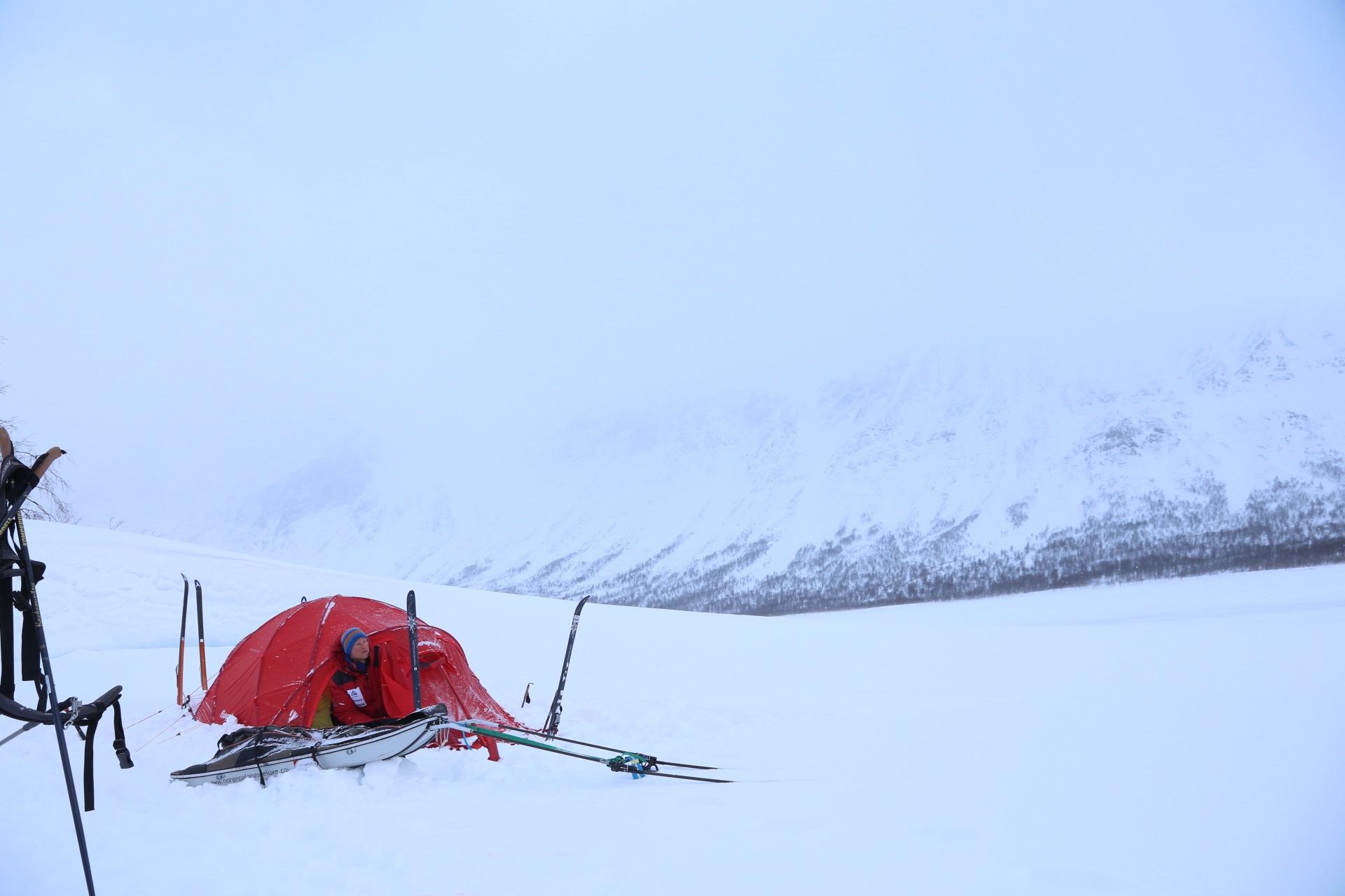 Test av tält Bergans Helium Expedition Dome 3